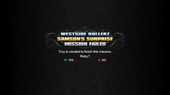 Samson's Surprise - Troy is needed to finish this mission
