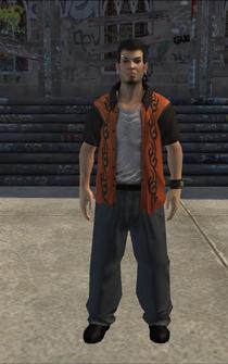 Theft - Aiden - character model in Saints Row