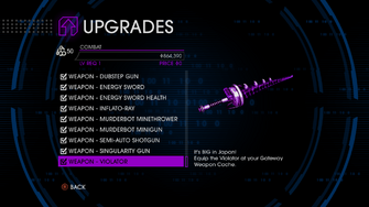 Upgrades menu in Saints Row IV - Page 6 of Combat