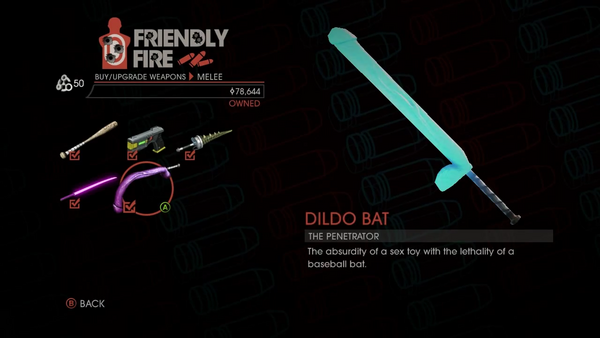 Weapon - Melee - Dildo Bat - Main