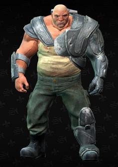 Brute Minigun - character model in Saints Row The Third