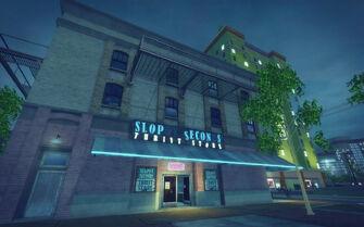 Cecil Park in Saints Row 2 - Sloppy Seconds