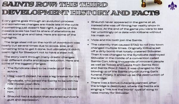 Development history from Saints Row The Third PrimaGuide