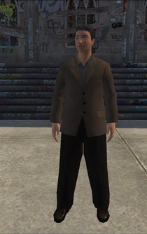 Highincome - asianGuy - character model in Saints Row