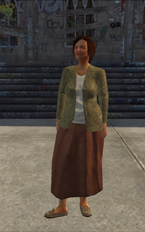 MiddleAge female 01 - Latino - character model in Saints Row
