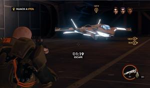 My Name is Cyrus Temple - Hijack a VTOL - second F-69 VTOL