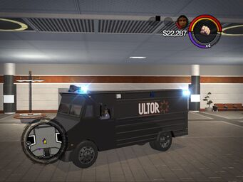 Peacekeeper - ultor variant - front left in Saints Row 2