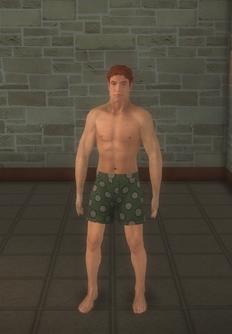 Streaker japan - FUZZ Streaker - character model in Saints Row 2