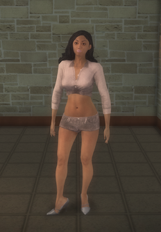 Stripper female b - hispanic generic - character model in Saints Row 2