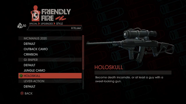 Weapon - Special - Sniper Rifle - GI Sniper - Holoskull