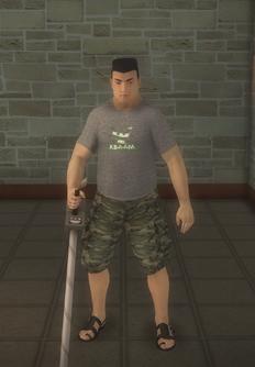 Beach male - beach male metal preset - character model in Saints Row 2
