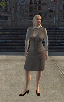 BusinessWoman-02 - HighEndClothingStore - character model in Saints Row