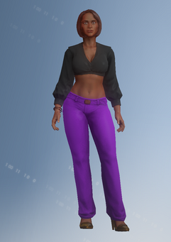 Gang Customization - Clubber 3 - Layla - in Saints Row IV