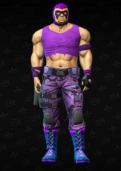 Gang Customization - Luchador 6 - Nacho - in Saints Row The Third