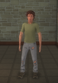 Junky - white male generic - character model in Saints Row 2