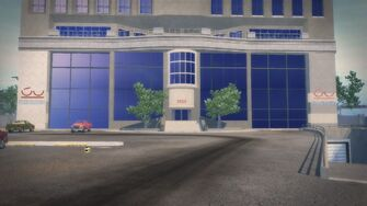 King Penthouse - entrance in the daytime in Saints Row 2