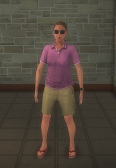 Lifeguard - white female generic nohat - character model in Saints Row 2