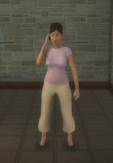 Middle-aged female gen - mid-aged female cell preset - character model in Saints Row 2