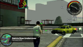 Saints Row Undercover - Gameplay with Tombstone and Taxi