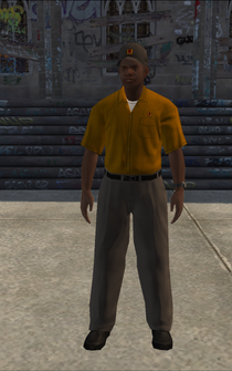 UPS - blackBPS - character model in Saints Row