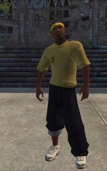 Vice Kings male thug1-01 - black - character model in Saints Row