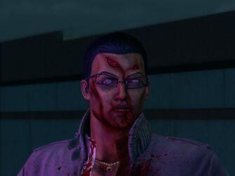 Zombie Gat - closeup of face