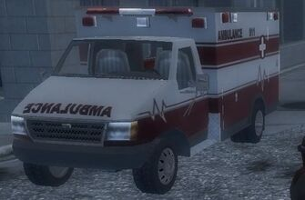 Ambulance - front in Saints Row 2
