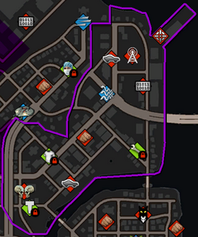 Ashwood map in Saints Row IV