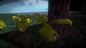 Cabbits in the Suburbs in Johnny Gat's Simulation in Saints Row IV