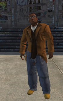 Hitman - Marcel - character model in Saints Row