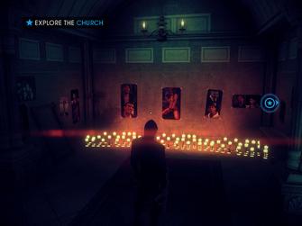King Me - Explore the Church objective - shrine room