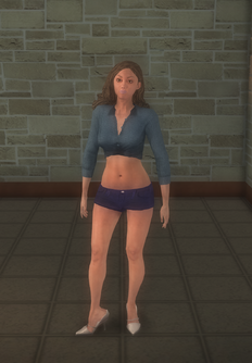 Stripper female b - white generic - character model in Saints Row 2