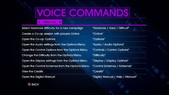 Voice Commands Page 2 - Saints Row IV Re-Elected