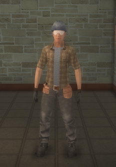 Construction - white construction - character model in Saints Row 2
