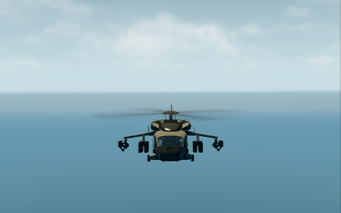 Eagle - Ultimate variant - front in flight in Saints Row The Third