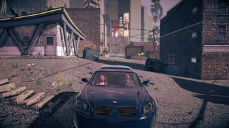 Hammer in Saints Row IV - front