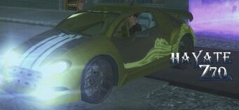 Hayate Z70 - front left with lights in Saints Row 2