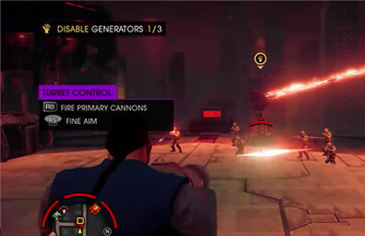 Hotspot turret in Saints Row IV livestream