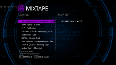 KRhyme 95.4 - Saints Row IV tracklist - top