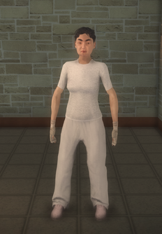 Patient - asian female - character model in Saints Row 2