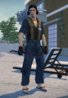 Richie as a Homie in Saints Row 2