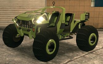 Saints Raider - recoloured green