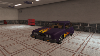 Saints Row variants - Slingshot - Gang 3SS lvl2 - front left