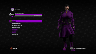 Wardrobe in Saints Row The Third