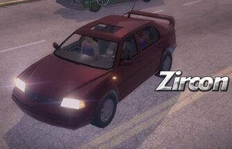 Zircon - front left with lights and logo in Saints Row 2