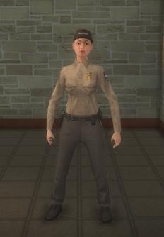 Cop - prison hispanic female - character model in Saints Row 2