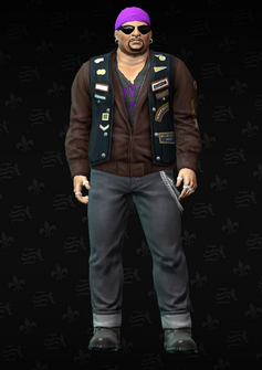 Gang Customization - Biker 1 - Dusty - in Saints Row The Third