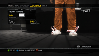 Lower Body - Shoes - Bunny Slippers - recoloured