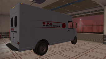 Saints Row variants - Delivery Truck - BPS - rear right