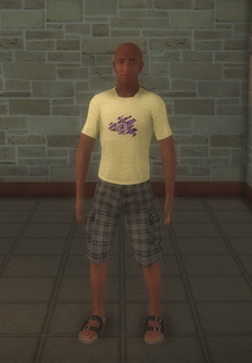 Beach male - black generic - character model in Saints Row 2